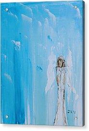 Angel Of Simplicity Acrylic Print