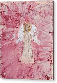 Angel Was Lost But Now Is Found  Acrylic Print