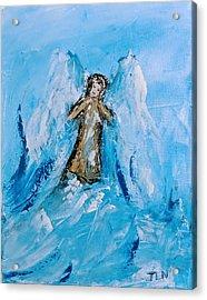 Angel With A Purpose Acrylic Print