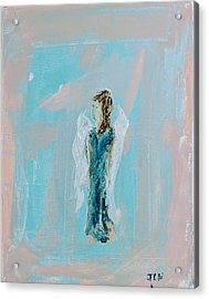 Angel With Character Acrylic Print