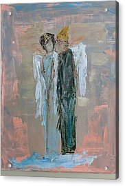Angels In Love Acrylic Print