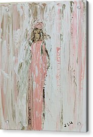 Angels In Pink Acrylic Print