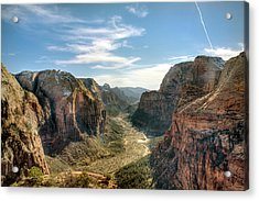 Angels Landing - Zion National Park Acrylic Print