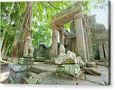 Angkor, Unesco World Heritage Site Acrylic Print