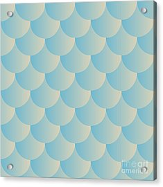 Animal Print. Fish Scales. Fish Skin Acrylic Print