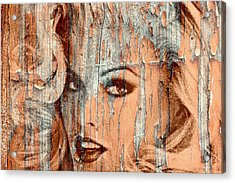Anna 4 Real Acrylic Print