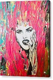 Anna Nicole Acrylic Print