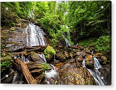 Acrylic Print featuring the photograph Anna Ruby Falls by Andy Crawford