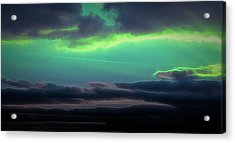 Acrylic Print featuring the digital art Another World by Scott Lyons