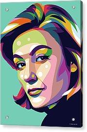 Anouk Aimee Acrylic Print