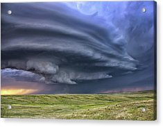 Anticyclonic Supercell Thunderstorm Acrylic Print by Jason Persoff Stormdoctor