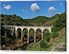 Antique Mertola's Bridge In Alentejo Acrylic Print