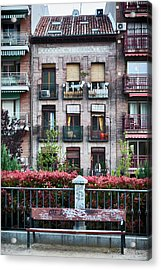 Apartments In Madrid Acrylic Print