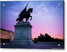 Apotheosis Of St. Louis, King Of France Acrylic Print