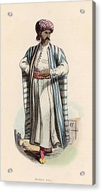 Arab Merchant Acrylic Print by Hulton Archive