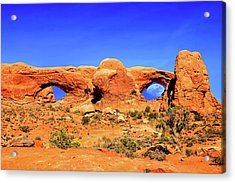 Arches Moon Eye Acrylic Print