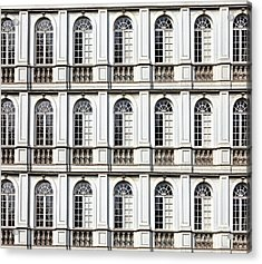 Architecture And Windows Of Ancient Acrylic Print