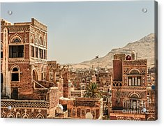Architecture In Yemen Acrylic Print