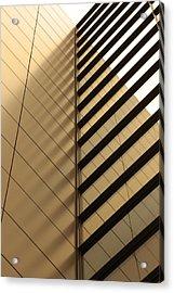 Architecture Reflection Acrylic Print by Tomasz Pietryszek