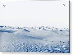 Arctic Desert. Winter Landscape With Acrylic Print