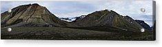Arctic Mountain Landscape Acrylic Print