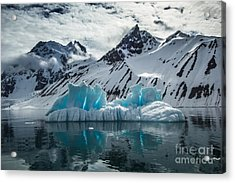 Arctic Spring In South Spitsbergen Acrylic Print