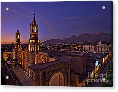 Arequipa Is Peru Best Kept Travel Secret Acrylic Print
