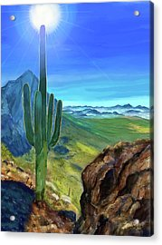 Arizona Heat Acrylic Print