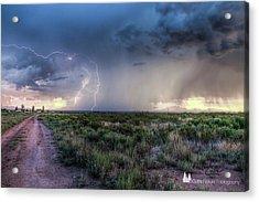 Arizona Storm Acrylic Print