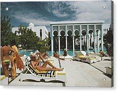 Armandos Beach Club Acrylic Print