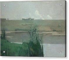 Arques-la-bataille, 1885 Acrylic Print