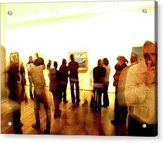 Art Gallery, Van Gogh Acrylic Print