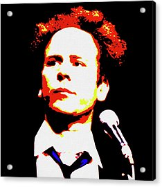 Art Garfunkel Pop Art Acrylic Print