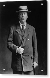Arthur Conan Doyle Acrylic Print by London Stereoscopic Company