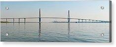 Arthur Ravenel Jr Bridge Over Cooper Acrylic Print