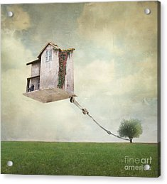 Artistic Image Representing An House Acrylic Print