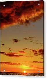As The Sun Touches Acrylic Print
