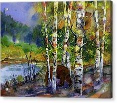 Aspen Bears #2 Acrylic Print