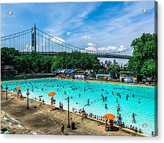 Astoria Pool Acrylic Print