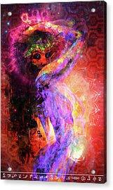 Astral Goddess 2 Acrylic Print by Matt Deifer
