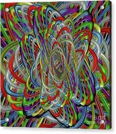 Astray Colors Acrylic Print