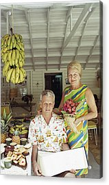 At Home In The Bahamas Acrylic Print by Slim Aarons