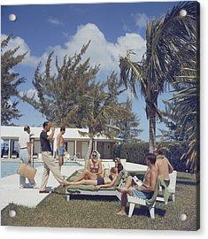 At Lyford Cay Acrylic Print