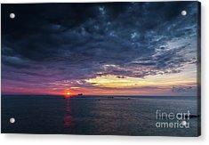 Acrylic Print featuring the photograph Atlantic Ocean Sunset by Pablo Avanzini