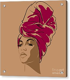 Attractive Young African-american Acrylic Print