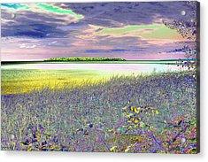 Au Train Island Lake Superior Michigan Acrylic Print