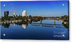 Augusta Ga Savannah River Panorama Acrylic Print