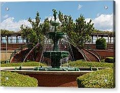 Augusta Riverwalk - Augusta Ga Acrylic Print