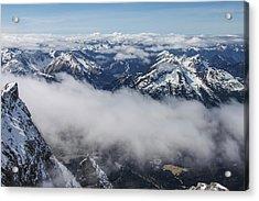 Acrylic Print featuring the photograph Austrian Alps by Dawn Richards