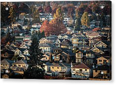 Autumn At Home Acrylic Print